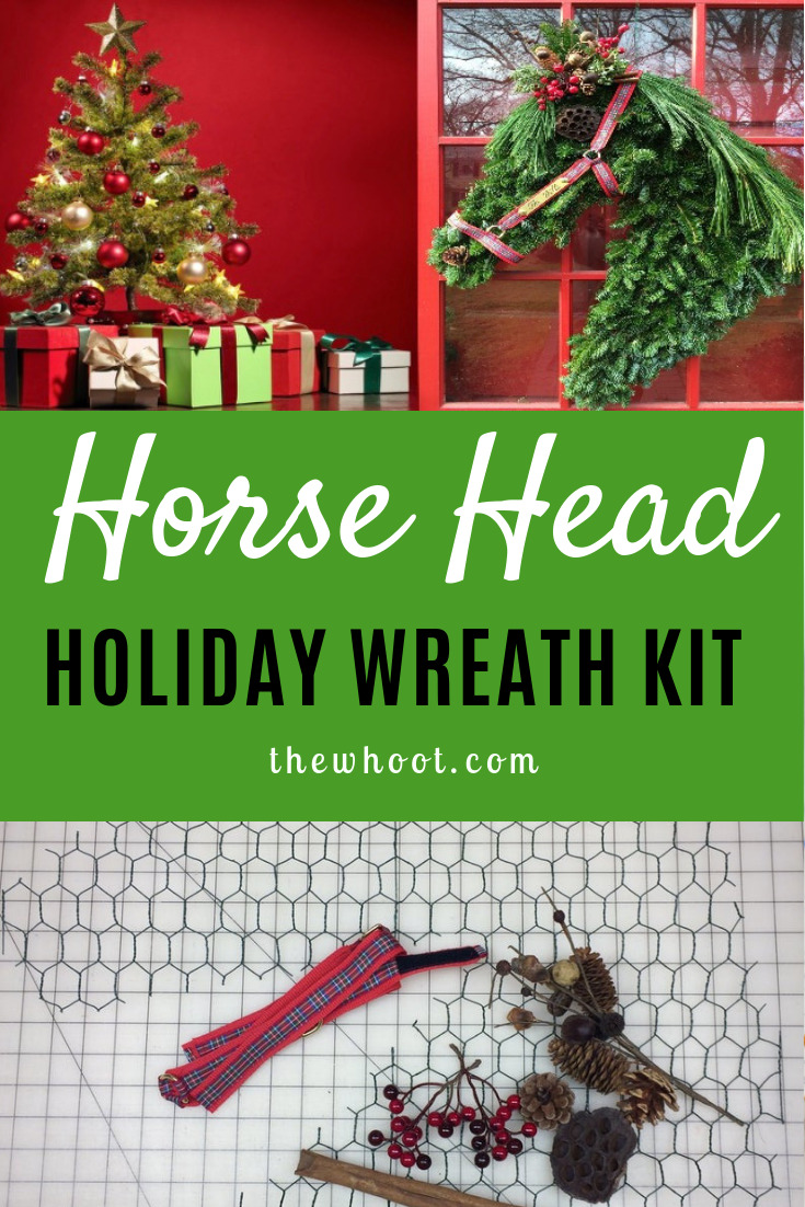 Horse Head Wreath Kit For Your Door The Whoot