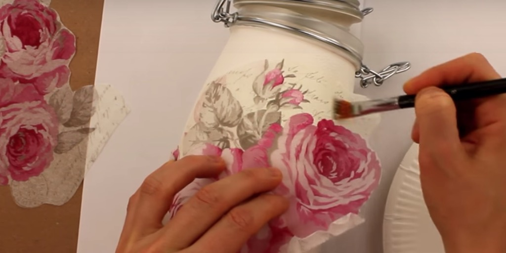 How To Decoupage For Beginners (Video)
