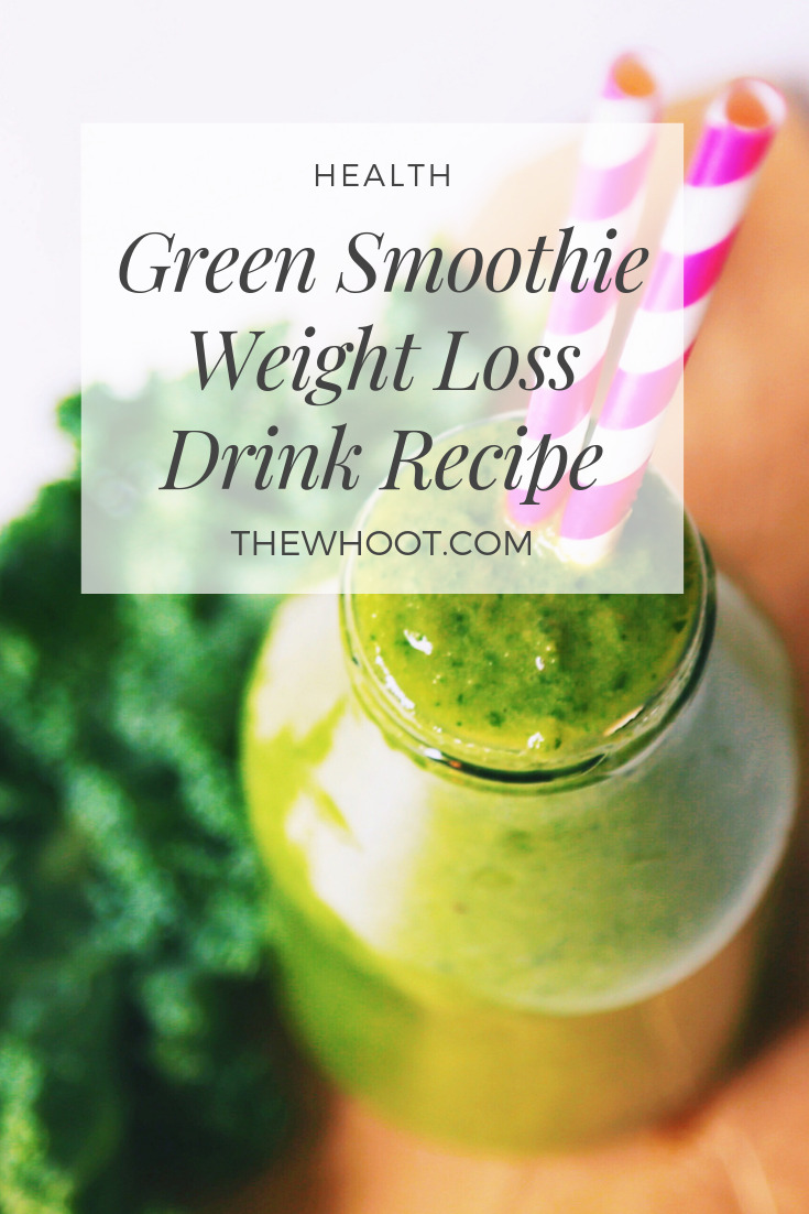 green smoothie weight loss recipe