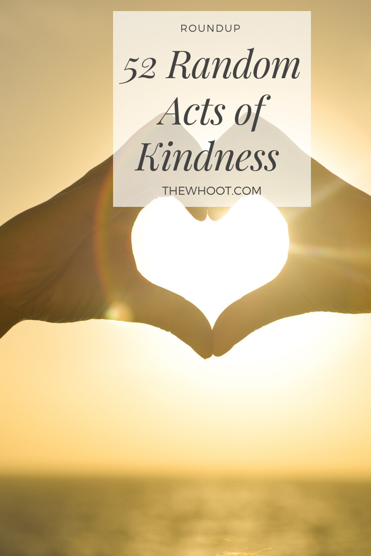 52 random acts of kindness