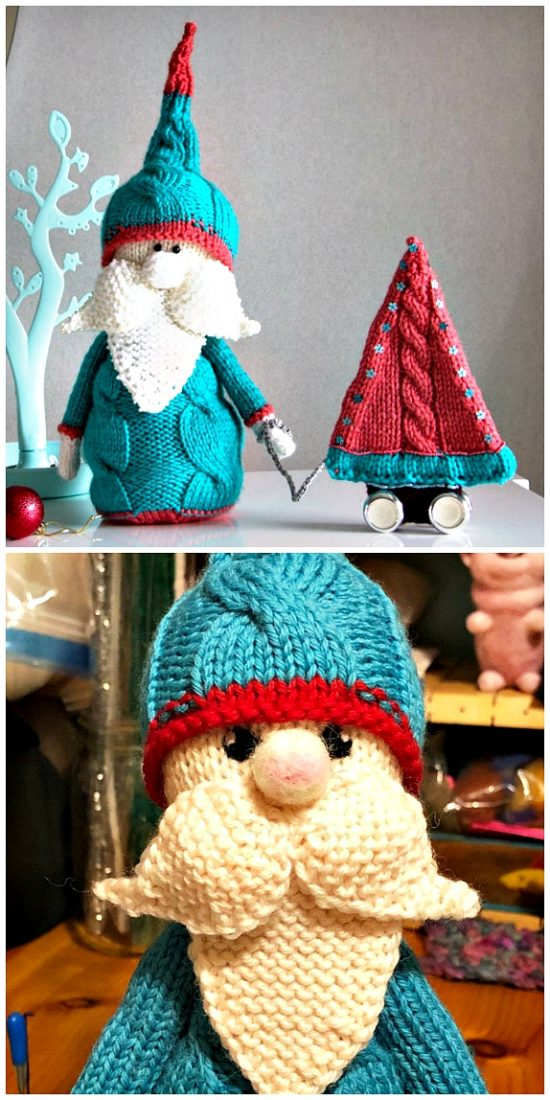 Knitted Christmas Decorations Patterns - The WHOot