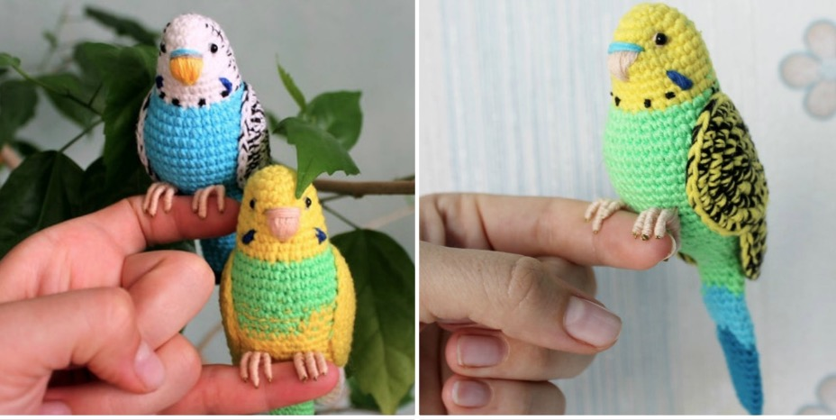 Crochet Bird Pattern | Crochet bird patterns, Crochet birds, Bird ... | 466x928