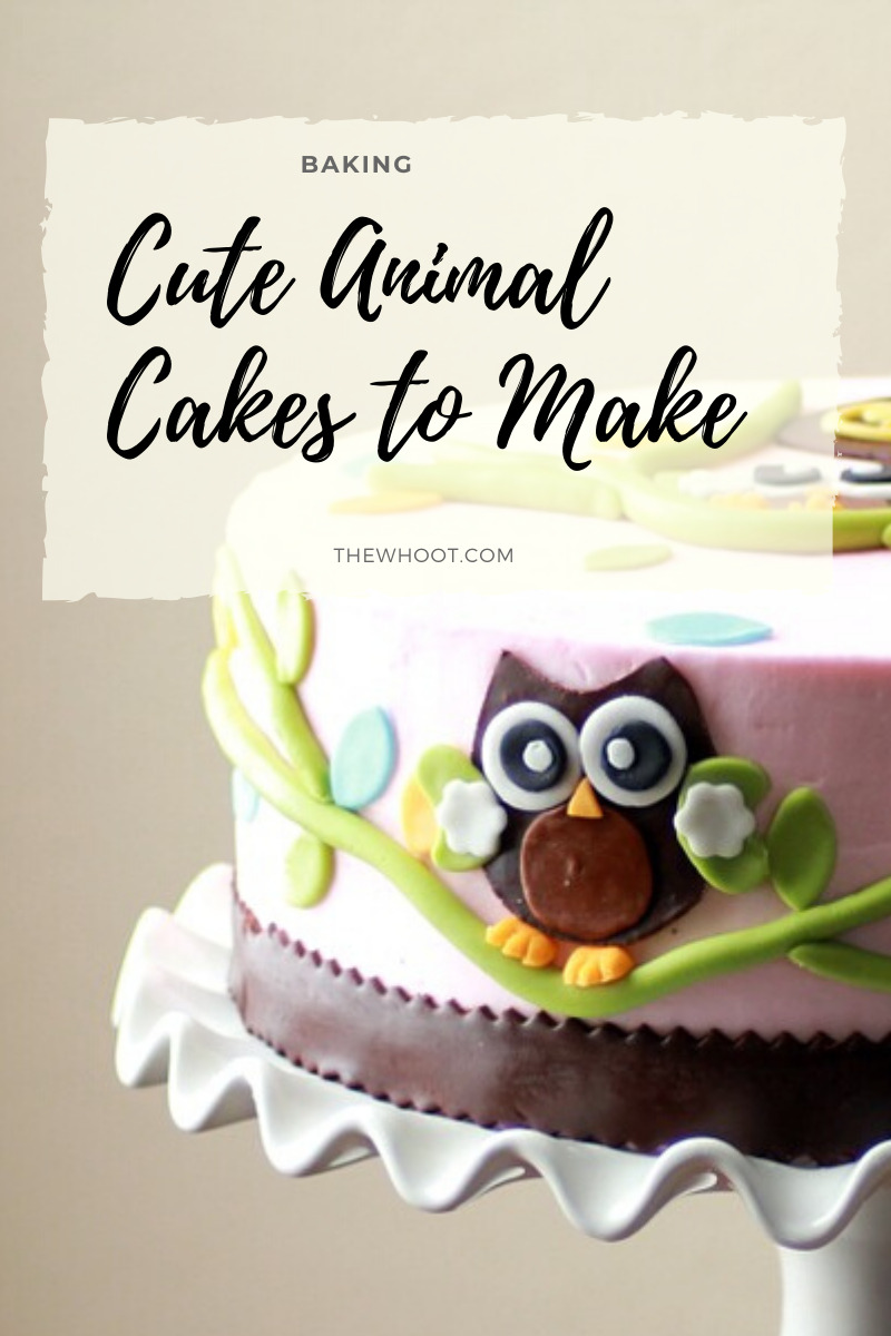 Enjoyable Animal Cakes Ideas Easy Birthday Party Options The Whoot Funny Birthday Cards Online Elaedamsfinfo