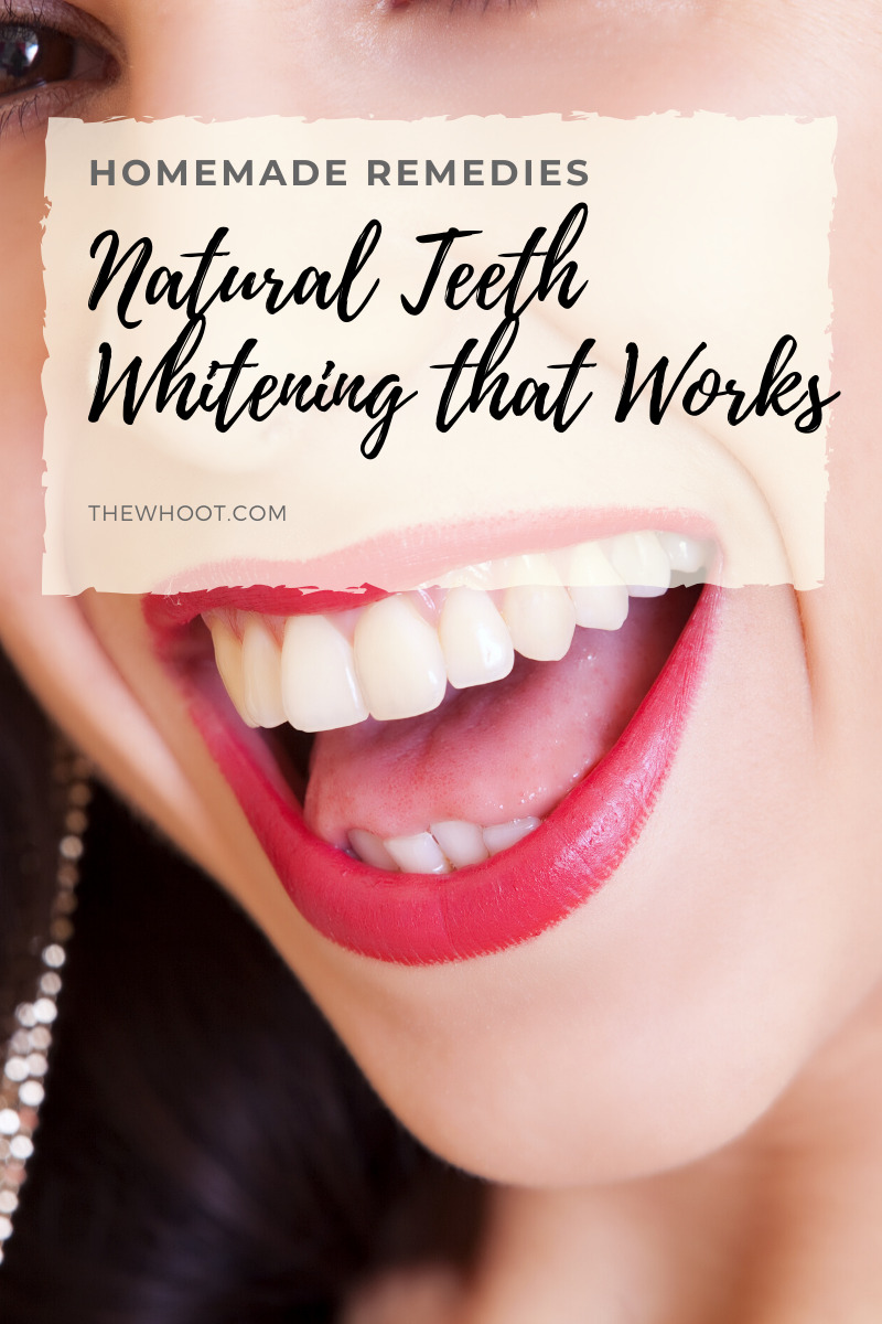 Natural Teeth Whitening That Really Works The Whoot