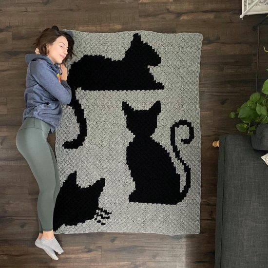 crochet cat blanket patterns
