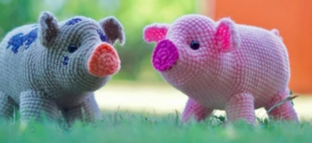 8 Crochet Amigurumi Pig Free Patterns | 478x1042