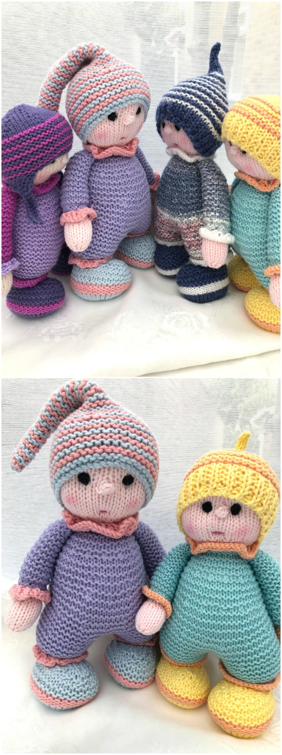 baby snuggle toy knitting pattern