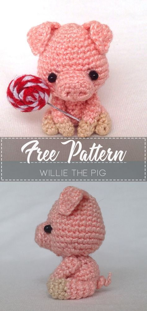 Crochet Along Dress Up Pig - YouTube | 997x474