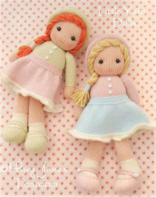 little yarn dolls knitting pattern