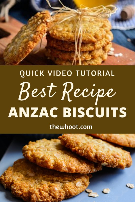 anzac biscuits best recipe