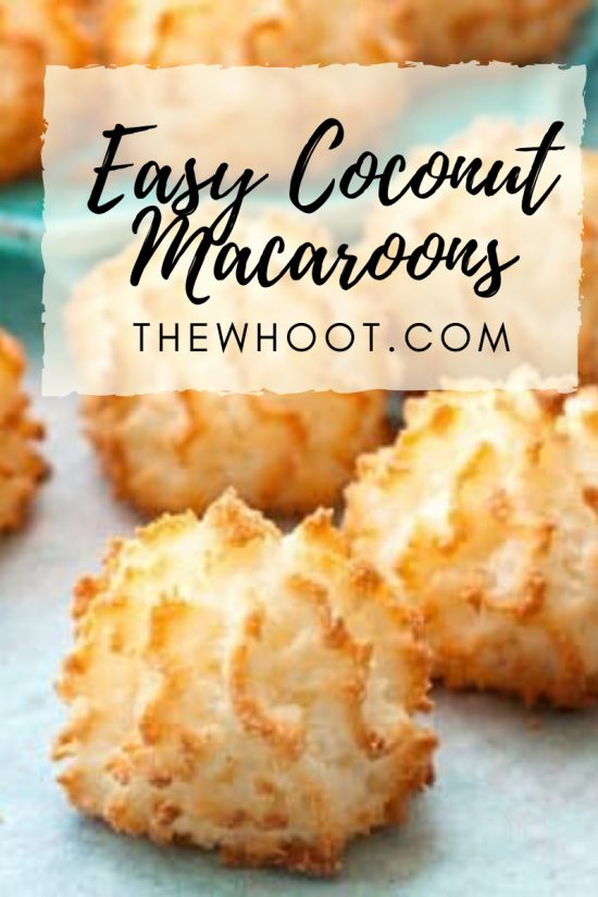Easy Coconut Macaroons Recipe Video The Whoot