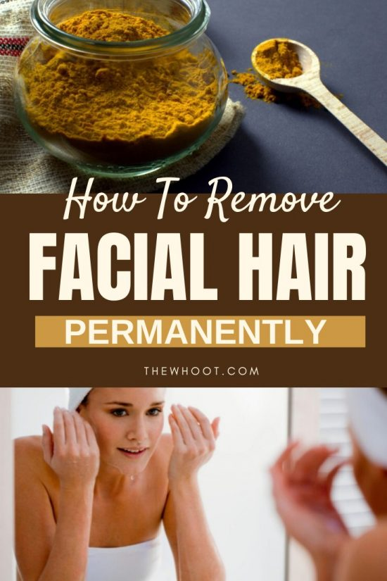 Remove Facial Hair Naturally And Permanently The Whoot