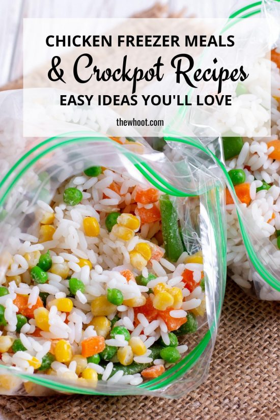 Chicken Freezer Meals Crockpot Recipes The Whoot