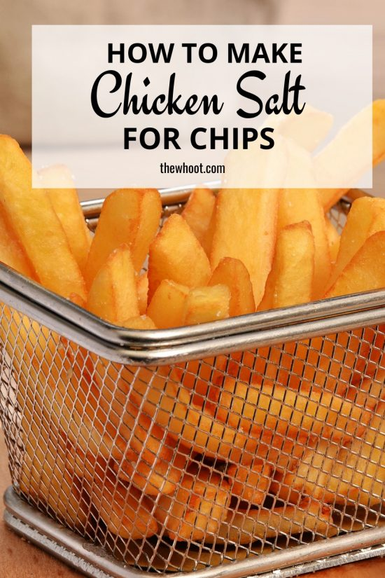 how to make chicken salt for chips