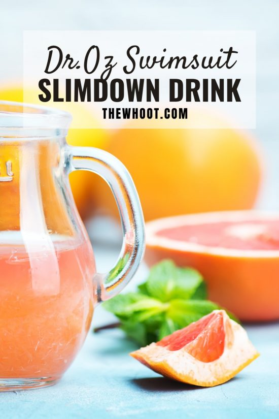 Dr Oz Slimdown Drink Excellent Weight Loss Recipe