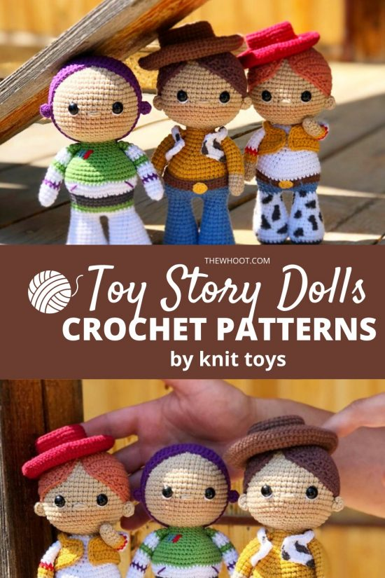 crochet patterns for toy story characters