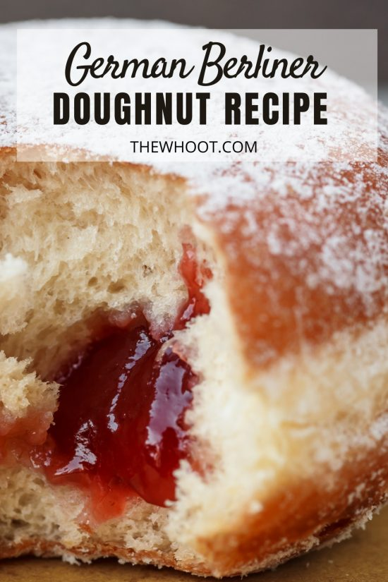 german berliner doughnuts recipe