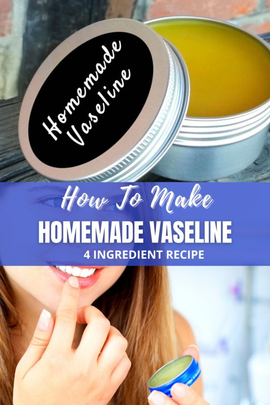 homemade vaseline recipe