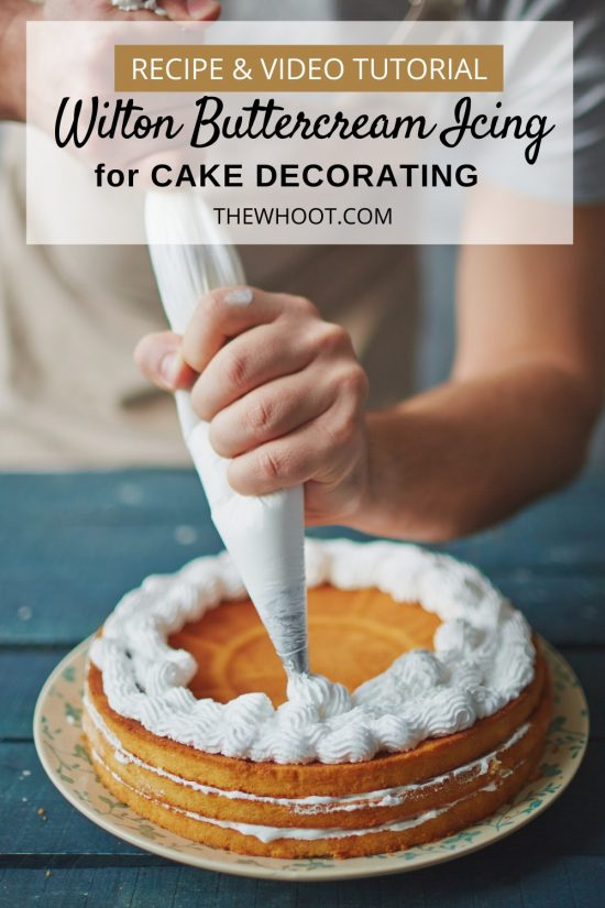 wilton buttercream icing recipe for cake decorating