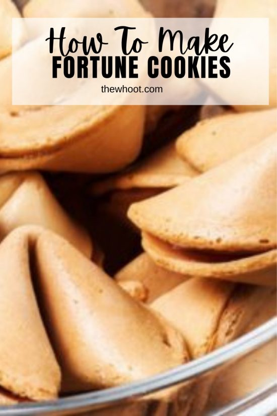 make homemade fortune cookies