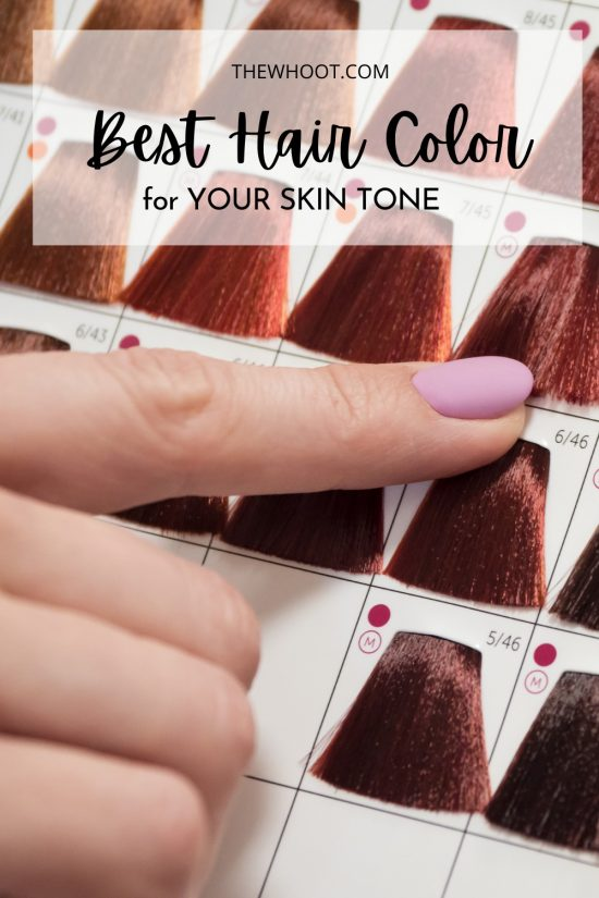 how to pick right color hair for skin tone