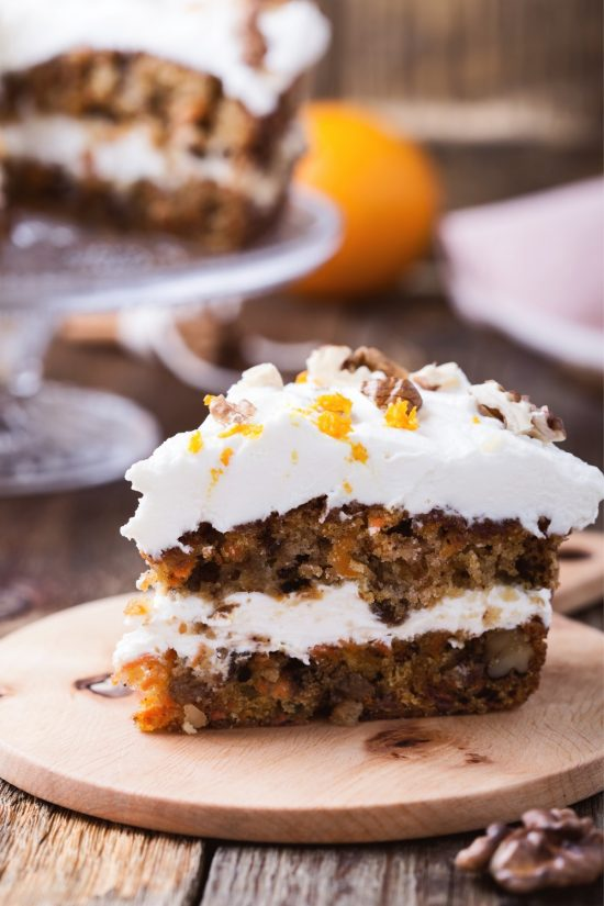 carrot cake with cream cheese frosting allrecipes